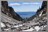Middle Teton Hike 2012