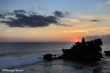 Tanah Lot Temple at sunset