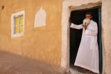 Balat, the man at the mosque