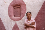 Dakhla Oasis, Young girl at the old town