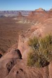 View from Orange Cliffs Overlook