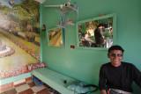 Farafra Oasis, at the barber shop