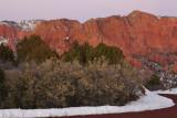 Near Kolob Canyons Viewpoint