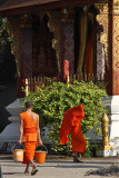 Works at Wat Saen