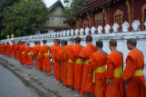 Monks receiving offers
