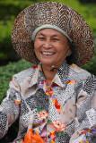 Ho Chi Minh, happy street seller