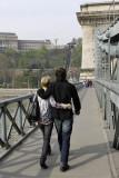 Couple in the Chain Bridge
