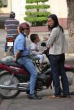 Ho chi Minh, street scene