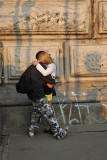 A kiss on the bridge