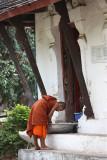 At the door temple