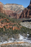 View from Emerald Pools Trails