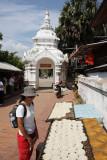 At the entrance of Wat Xieng Thong