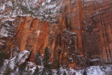 The walls at Upper Emerald  Pool