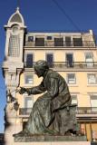 Chiado, António Ribeiro (poet) statue