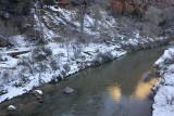 River near Zion Lodge