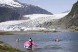 Mendenhall Glacier near Juneau