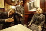 Borges, Gardel and Alfonsina Storni at Cafe Tortoni