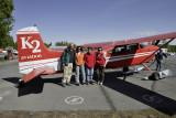 Our plane in Talkeetna to the flight over Denali