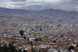 La Paz, general view