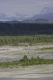 On the way to Matanuska Glacier