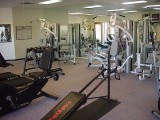 THE EXERCISE ROOM WAS USED OFTEN