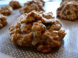 Vegan Agave Oatmeal Cookies
