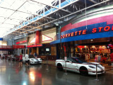 A stop at the National Corvette Museum on the way home