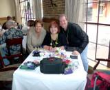 Glitter Mom, Toni, & Doug at G.W. Fins