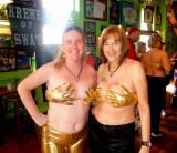 Elaine & Susan in Golden Hands