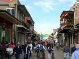 Bourbon Street on Monday PM