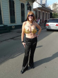 Susan on Bourbon St.