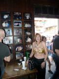 Susan at Lafitte's Blacksmith Shop