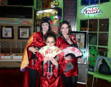 Bill with Gorgeous Geishas at TI