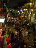 Bourbon St. on Monday Night