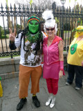 Rasta Alien & Judy Jetson