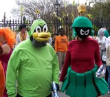 Space Duck & Marvin the Martian