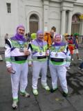 Three Buzz Lightyears