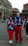 Fat Tuesday in Jackson Square