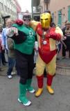 Green Lantern & Iron Man on Bourbon St.