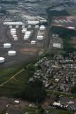 Approaching Newark International