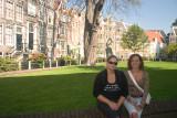 Girls at Begijnhof
