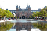 Reflecting pond at the Rijksmuseum