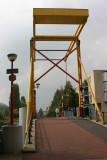 Colorful drawbridge