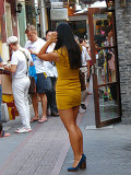 The Lady in Yellow, Shanghai, 2011