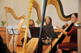 Stimmungsvolle Harfenmusik