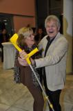 der wunderbar fitte pensionierte Gastwirt Leopold Thurner mit Erika Ofenboeck