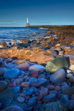 Pebbled Lighthouse