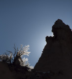 At Prayer Tent Rocks National Monument, New Mexico - January 2012