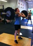 150lb front squat
