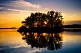 Chippewa Flowage, WI sunset